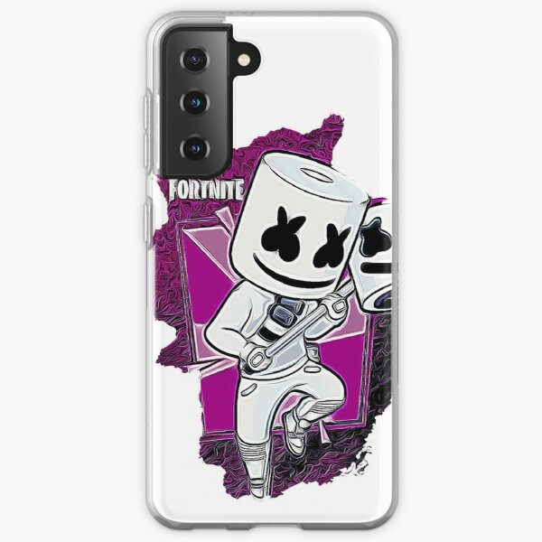 Marshmello Fortnite Samsung Galaxy Soft Case