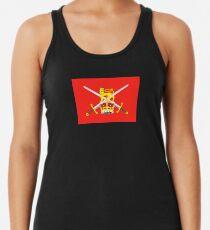 British Army Flag T-Shirt - United Kingdom Reserve Force Sticker Women's Tank Top