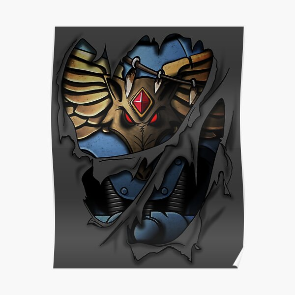 Space Wolves Armor Poster
