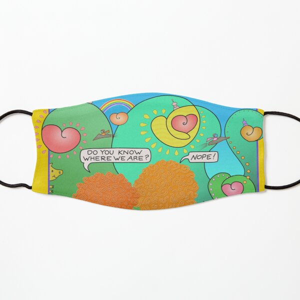 Where We Are Kids Mask
