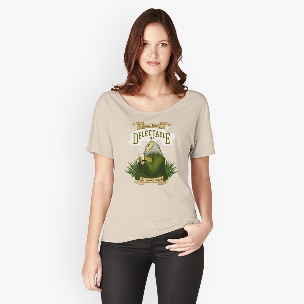 Iroh's Delectable Tea Relaxed Fit T-Shirt