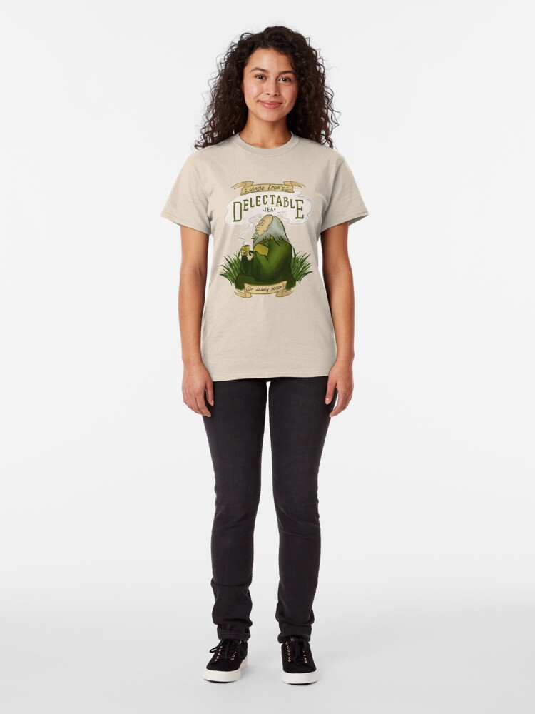 Alternate view of Iroh's Delectable Tea Classic T-Shirt