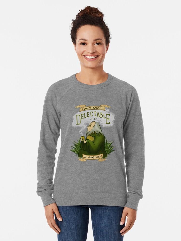 Alternate view of Iroh's Delectable Tea Lightweight Sweatshirt