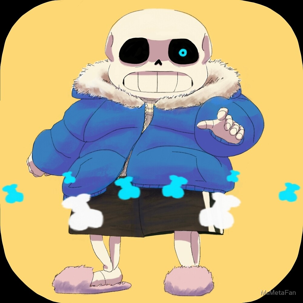 Sans Has A Bone To Pick With You by MsMetaFan