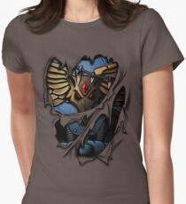 Space Wolves Armor Women's Fitted T-Shirt