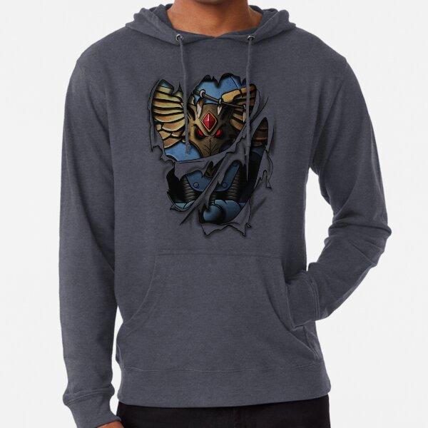 Space Wolves Armor Lightweight Hoodie