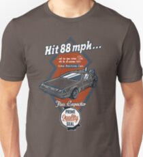 Time Machine Car Unisex T-Shirt