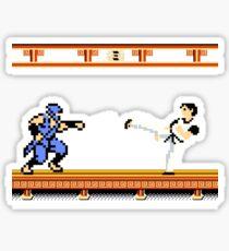Ninjutsu vs. Kung Fu Sticker