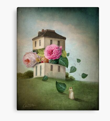House of Flowers Canvas Print