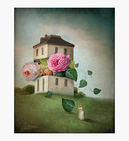 House of Flowers Photographic Print