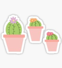 Cacti Party Stickers Sticker