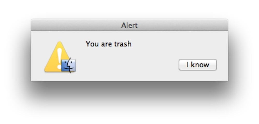 You are Trash by 3nchanted