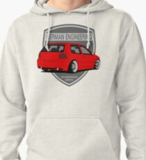 German Engineering -Red Pullover Hoodie
