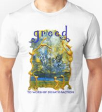 Greed- The Seven Sins Unisex T-Shirt
