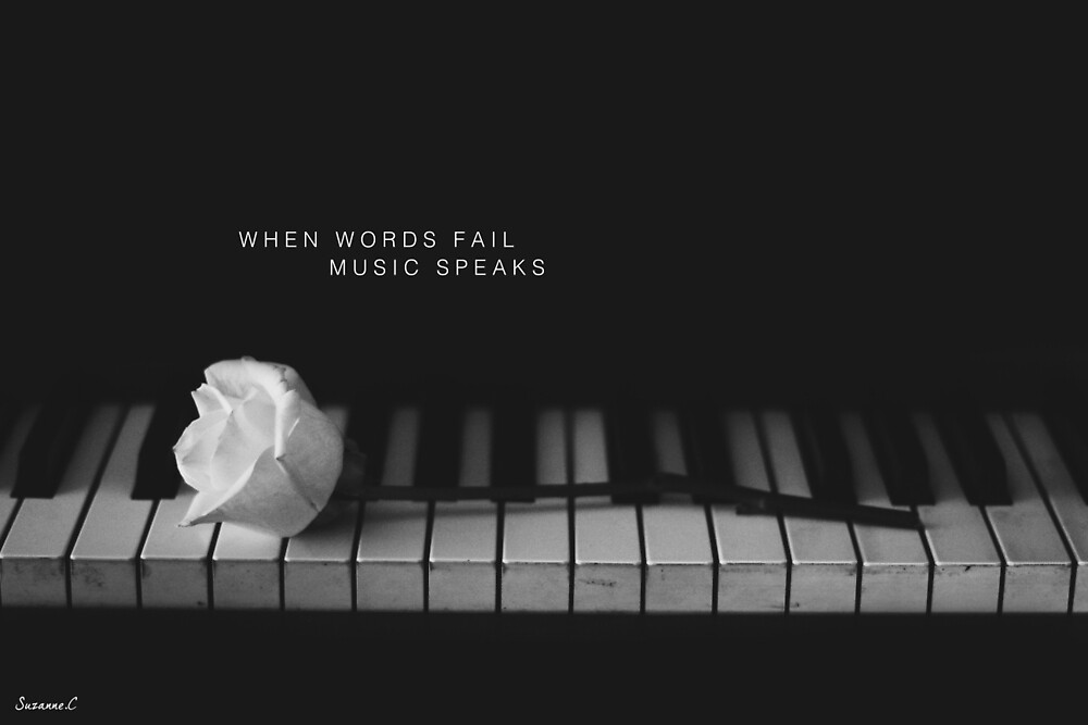 Music Speaks by Suzanne Charette