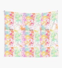 Abstract Paint Splatters Assorted Colors Wall Tapestry