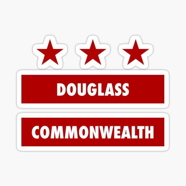 Douglass Commonwealth - Washington DC Flag Sticker
