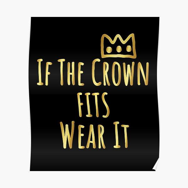 Wenn die Krone passt, tragen Sie sie - Ranboo, mein Geliebter Poster