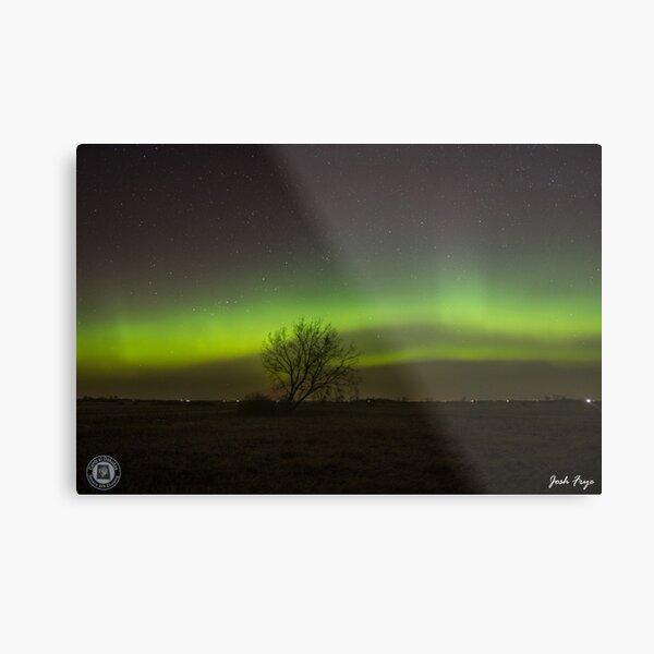 Aurora 4/17/2021 Deering, ND (Lone Tree) Metal Print