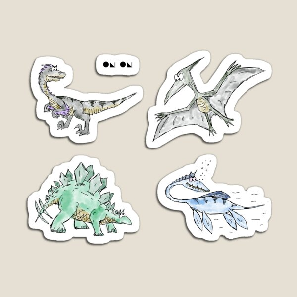 4Dinosaurs Group 2 Magnet