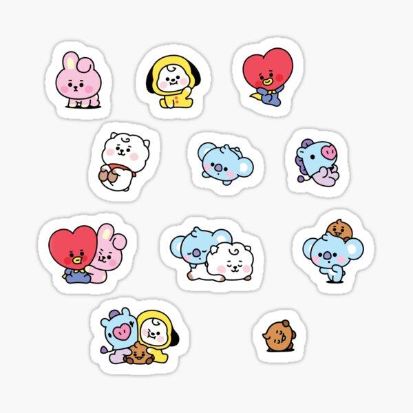 BT21 Baby Set  Sticker