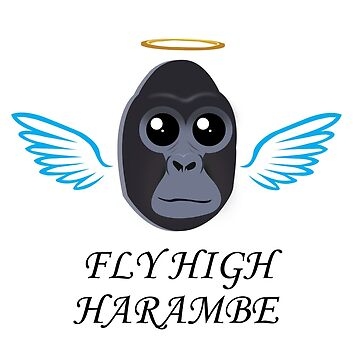 Fly High Harambe by grantnorfleet