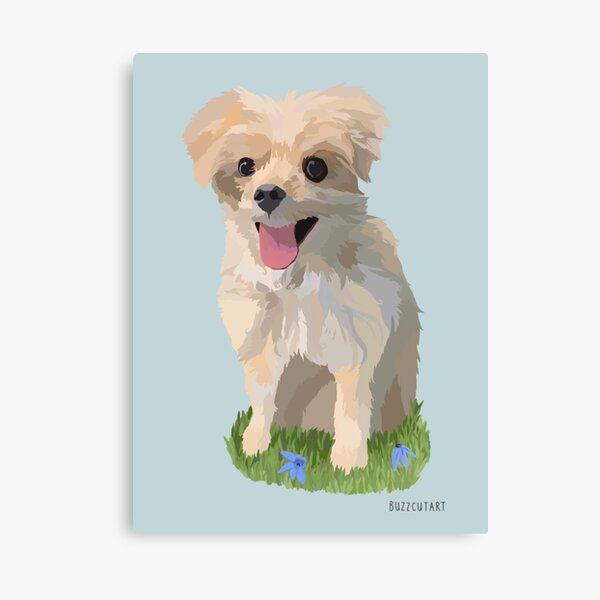 dogs are not our whole life but they make our lives whole Canvas Print
