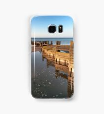 Norfolk groyne Samsung Galaxy Case/Skin