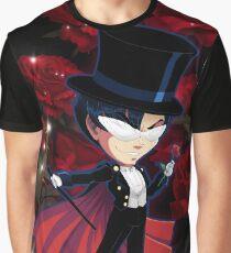 Sailor Moon: Tuxedo Mask Graphic T-Shirt
