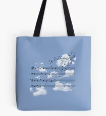 The Musical Notes Tote Bag