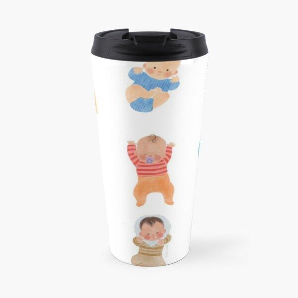 Babies of the world Travel Mug