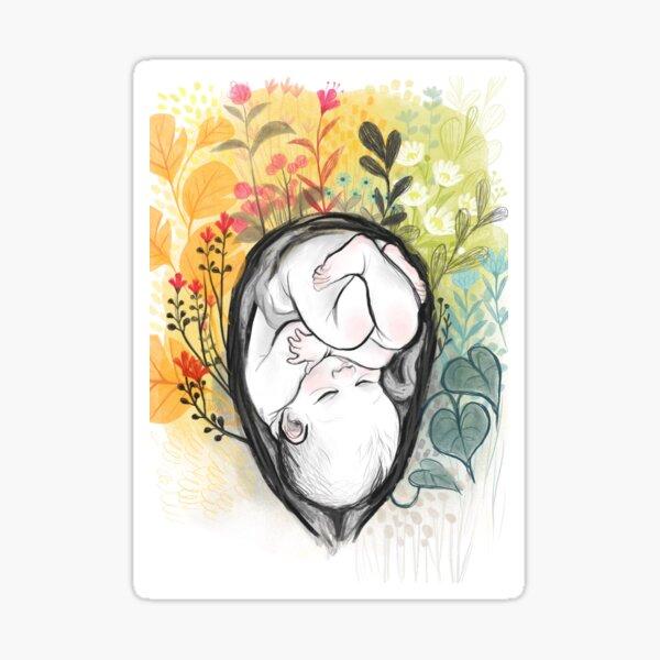 Bloom baby Sticker