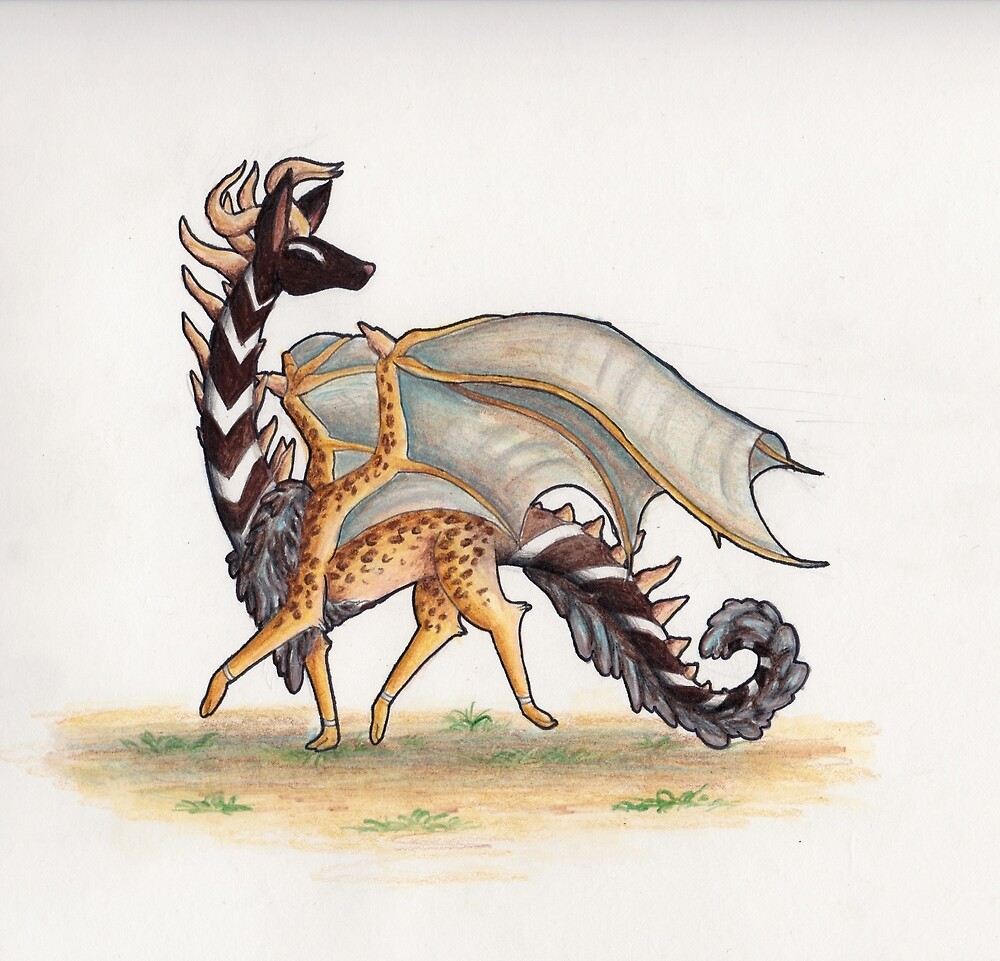 Creature of the Savannah  by Tails-and-Scale