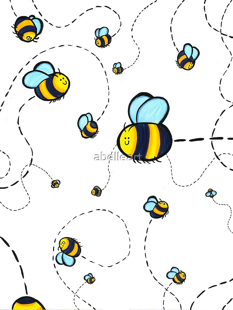 Bumble Pattern by abelleart