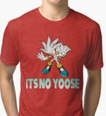 Silver The Hedgehog - It's no use  Tri-blend T-Shirt