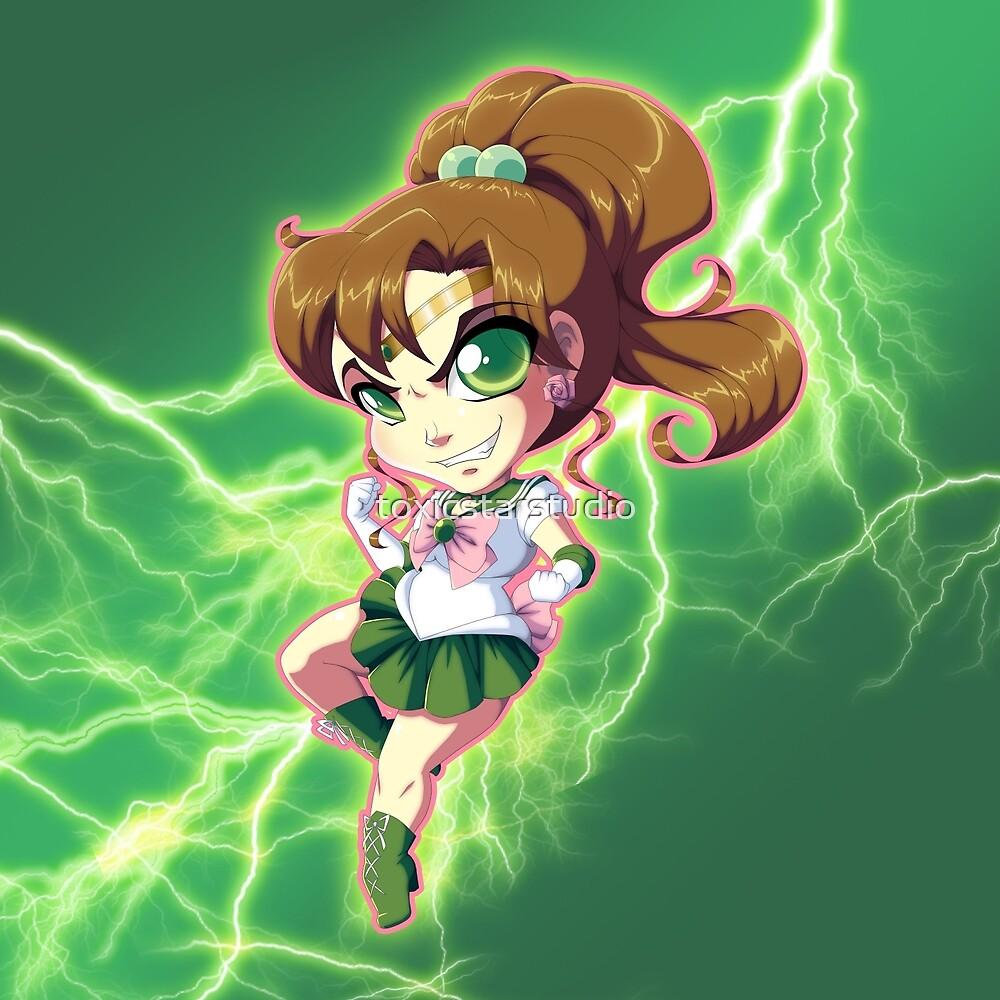 Sailor Moon: Sailor Jupiter by toxicstarstudio