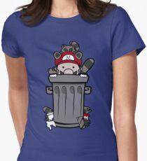 Mario Trash Womens Fitted T-Shirt