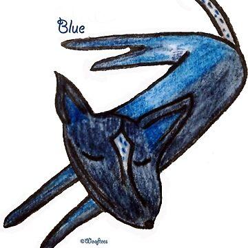 Blue (an Australian Blue Heeler) by Adrienne1313