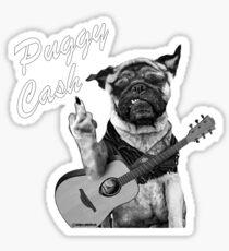 Puggy Cash Sticker