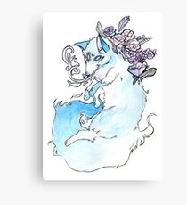 Blue Fox Canvas Print