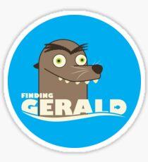 Finding Gerald Sticker