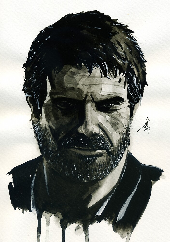 Joel from The Last of Us by taijmedia