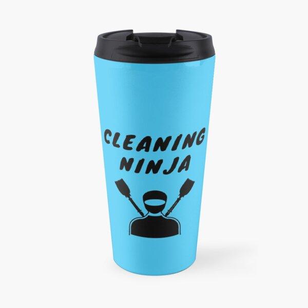 Cleaning Ninja Housekeeper Cleaning Crew Gifts Travel Mug