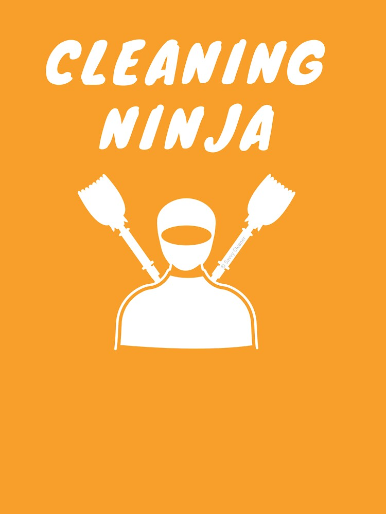 Cleaning Ninja Housekeeper Cleaning Crew Gifts by SavvyCleaner