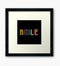 Natalie - Your Personalised Merchandise Framed Print