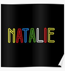Natalie - Your Personalised Merchandise Poster