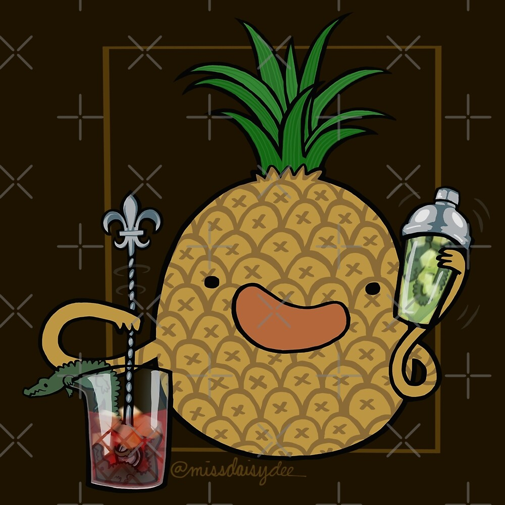 Pineapple :: Carnivorous Foods Series by missdaisydee