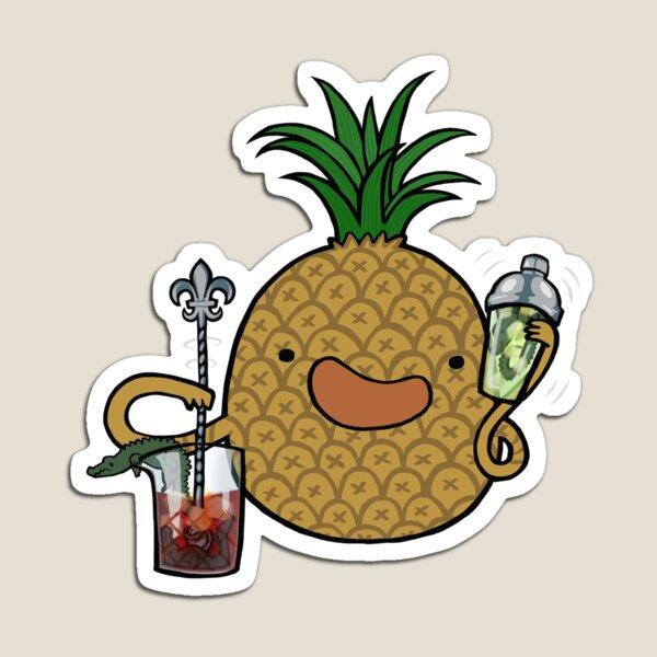 Pineapple :: Carnivorous Foods Series Magnet