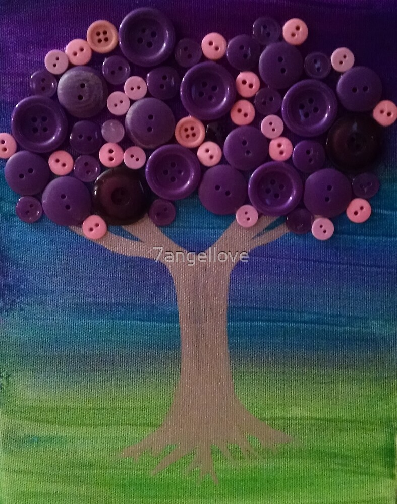 Purple Tree by 7angellove
