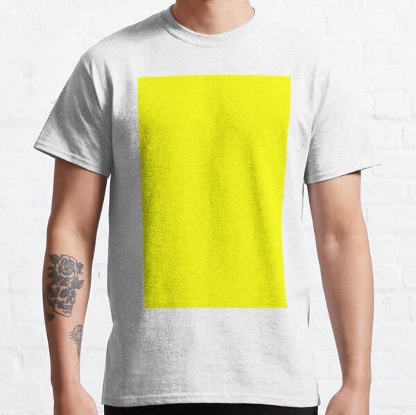 Neon fluorescent Yellow | Yellow|neon Yellow/Fluro Yellow Classic T-Shirt
